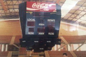Marcador basket Badajoz
