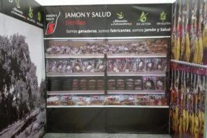 Stand desmontable realizado para Jamón y Salud